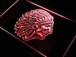 Indian Chief Neon Sign (LED)-Way Up Gifts