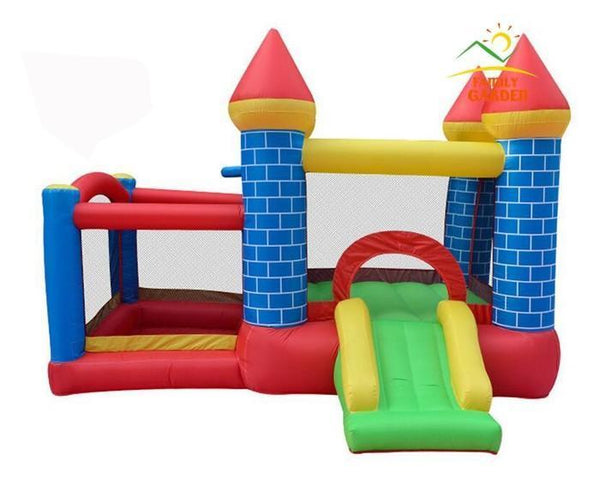 Inflatable Ball Pit Bounce House & Slide Castle