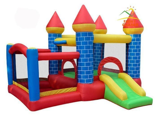 Inflatable Bouncy Castle | Bounce House & Ball Pit with Slide