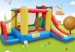 Inflatable Bouncy Castle | Bounce House, Rock Climbing Wall & Slide