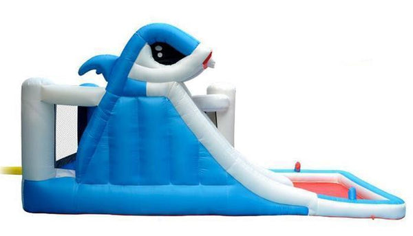 Inflatable Shark Water Slide Bouncy Castle Waterpark | Bounce House  Home > Outdoor > Bounce Houses - Way Up Gifts