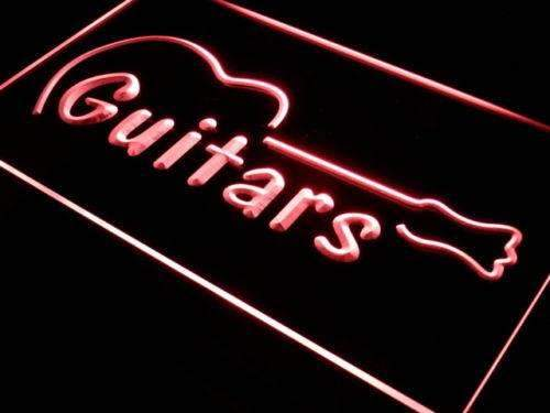 Instrument Store Guitars LED Neon Light Sign - Way Up Gifts