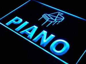 Instruments Store Piano Neon Sign (LED)-Way Up Gifts