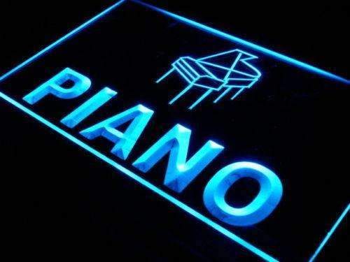 Instruments Store Piano LED Neon Light Sign - Way Up Gifts