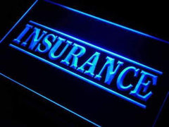 Insurance Services LED Neon Light Sign