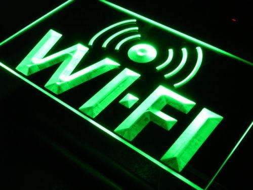 Internet Access Wifi LED Neon Light Sign - Way Up Gifts
