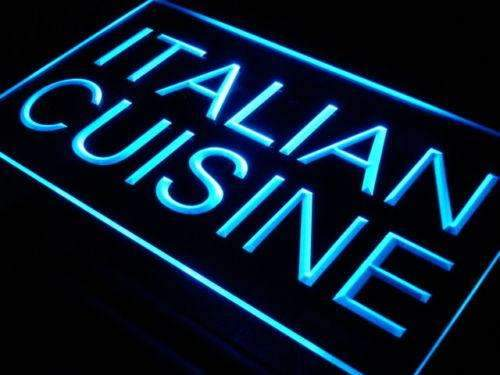Italian Cuisine LED Neon Light Sign - Way Up Gifts