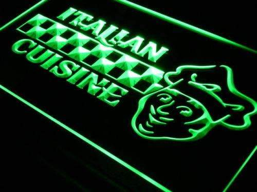 Italian Cuisine Restaurant LED Neon Light Sign - Way Up Gifts