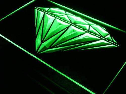 Jewelry Shop Diamonds Lure LED Neon Light Sign - Way Up Gifts