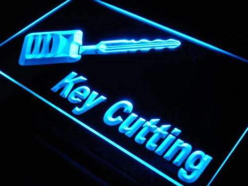 Key Cutting LED Neon Light Sign - Way Up Gifts