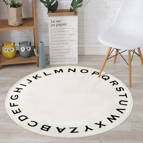 Kids Round Area Rugs