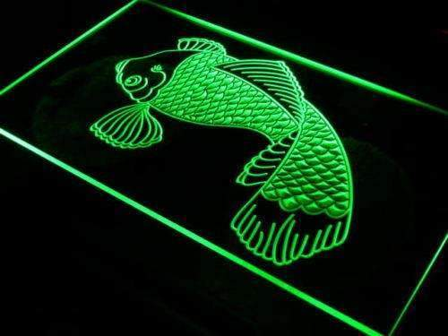 Koi Japanese Fish Tattoo Logo LED Neon Light Sign - Way Up Gifts