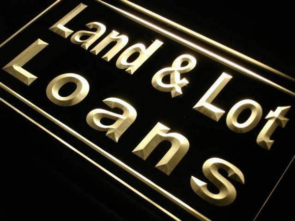 Land and Lot Loans LED Neon Light Sign - Way Up Gifts