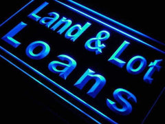 Land and Lot Loans LED Neon Light Sign