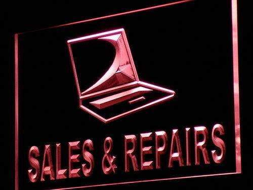 Laptop Sales Repairs LED Neon Light Sign - Way Up Gifts