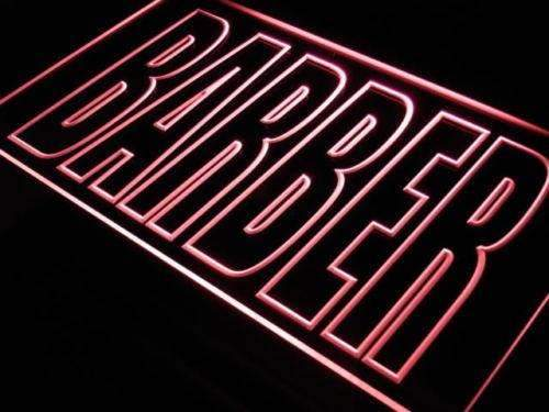 Large Barber LED Neon Light Sign - Way Up Gifts