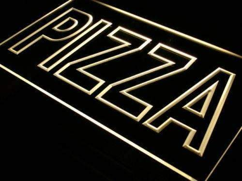 Large Letters Pizza LED Neon Light Sign - Way Up Gifts