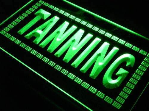 Large Letters Tanning LED Neon Light Sign - Way Up Gifts