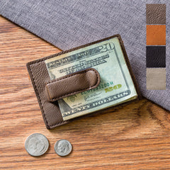 Personalized Card Wallet & Money Clip