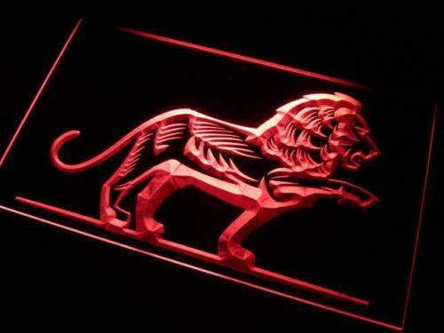 Lion Decor Neon Sign (LED)-Way Up Gifts