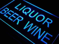 Liquor Beer Wine LED Neon Light Sign