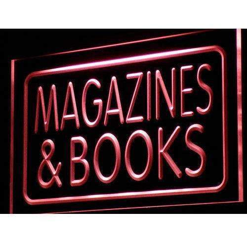 Magazines Book Shop LED Neon Light Sign - Way Up Gifts