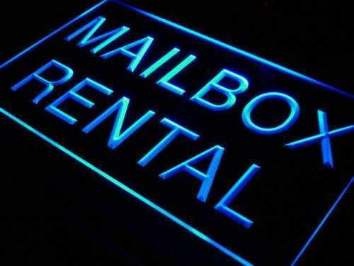 Mailbox Rental LED Neon Light Sign - Way Up Gifts