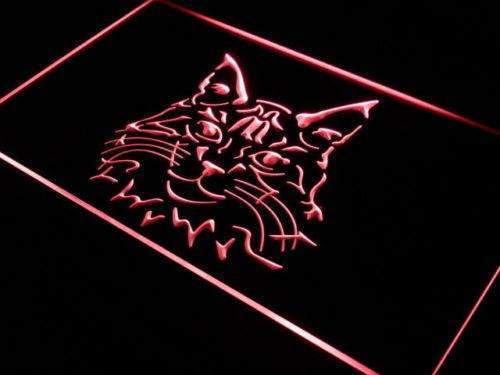 Maine Coon Cat LED Neon Light Sign - Way Up Gifts