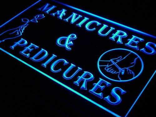 Manicures Pedicures LED Neon Light Sign - Way Up Gifts