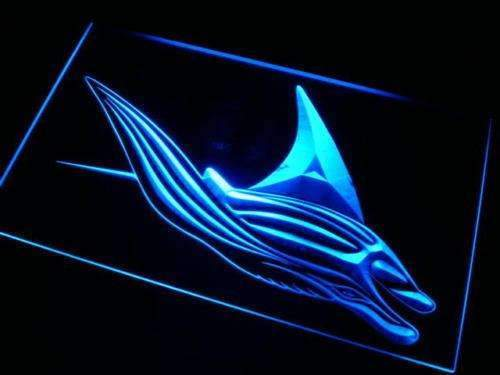 Manta Ray Decor LED Neon Light Sign - Way Up Gifts