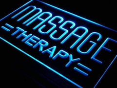 Massage Therapy Lure LED Neon Light Sign