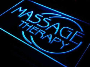 Massage Therapy Neon Sign (LED)-Way Up Gifts