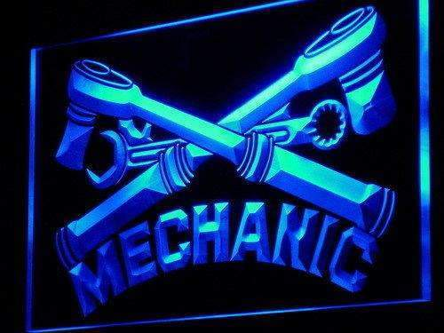 Mechanic LED Neon Light Sign - Way Up Gifts