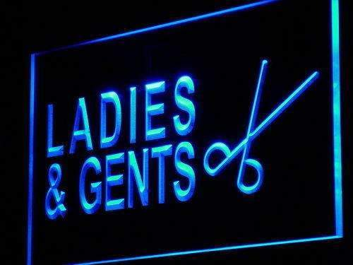 Men Women Hair Cuts LED Neon Light Sign - Way Up Gifts