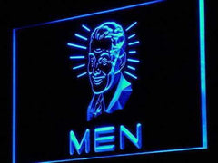 Mens Vintage Restrooms LED Neon Light Sign