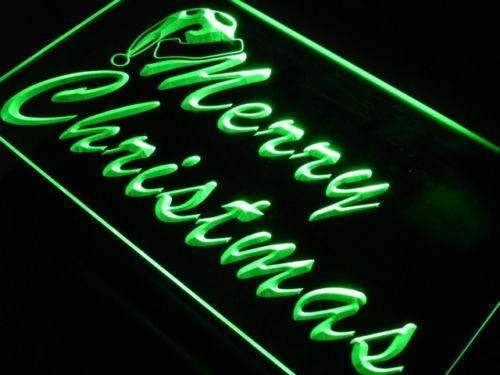 Merry Christmas LED Neon Light Sign - Way Up Gifts