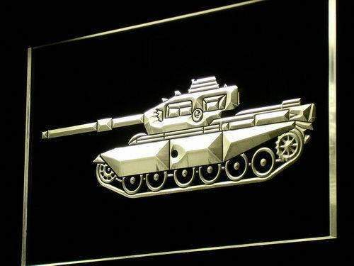Military Tank LED Neon Light Sign - Way Up Gifts