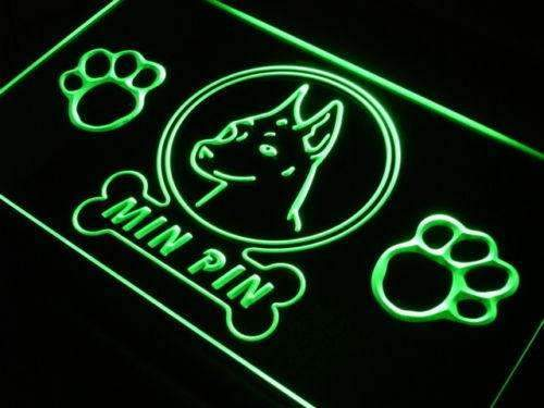 Miniature Pinscher Min Pin LED Neon Light Sign - Way Up Gifts