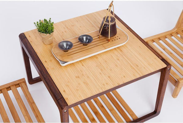 Handcrafted Modern Bamboo Coffee Table  Home > Bamboo Products > Bamboo Furniture - Way Up Gifts