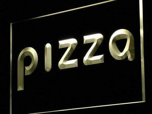 Modern Pizza LED Neon Light Sign - Way Up Gifts