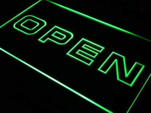 Modern Store Open LED Neon Light Sign - Way Up Gifts