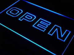 Modern Store Open LED Neon Light Sign