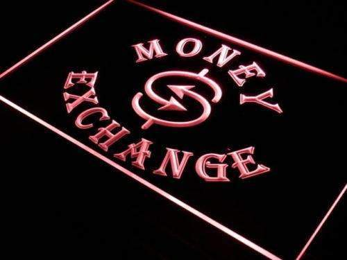 Money Exchange LED Neon Light Sign - Way Up Gifts