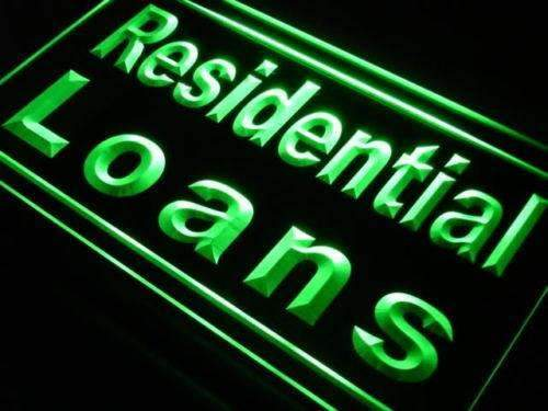 Mortgage Residential Loans LED Neon Light Sign - Way Up Gifts