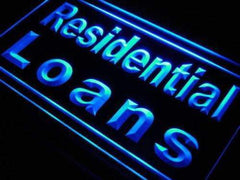 Mortgage Residential Loans LED Neon Light Sign