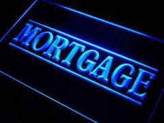 Mortgage Services LED Neon Light Sign