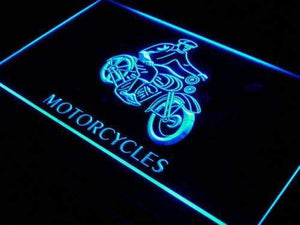 Motorcycles for Sale Repairs Neon Sign (LED)-Way Up Gifts