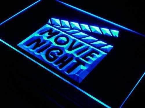 Movie Night LED Neon Light Sign - Way Up Gifts