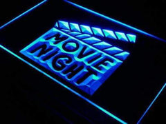 Movie Night LED Neon Light Sign