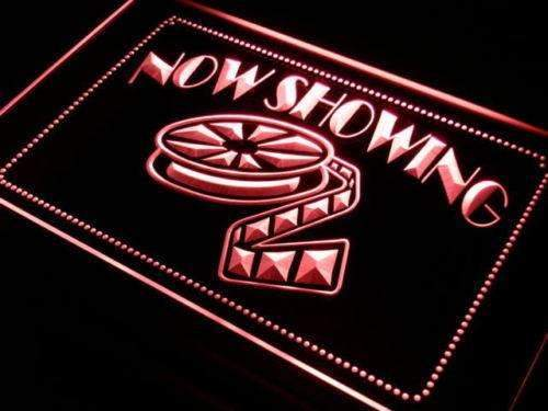 Movie Theater Now Showing LED Neon Light Sign - Way Up Gifts